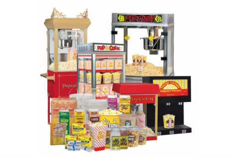 Popcorn Machines Canada - Poppa Corn #1 in Ontario - Home
